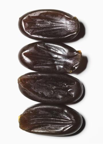 4 caramels durs