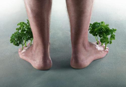 Avoir du persil entre les doigts de pied (1)