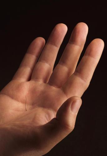 Avoir un poil dans la main (1)