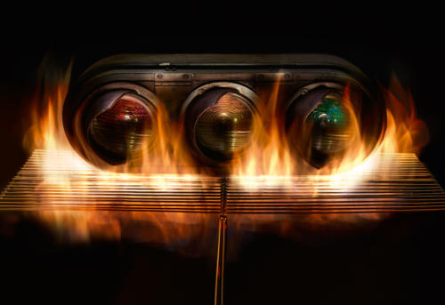 Brûler un feu (1)