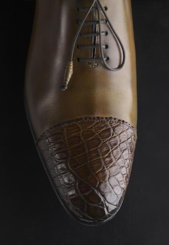 Chaussure bicolore
