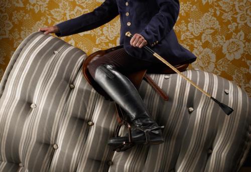 Être à cheval sur la literie (1)