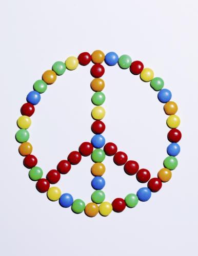 Symbole Peace  Love