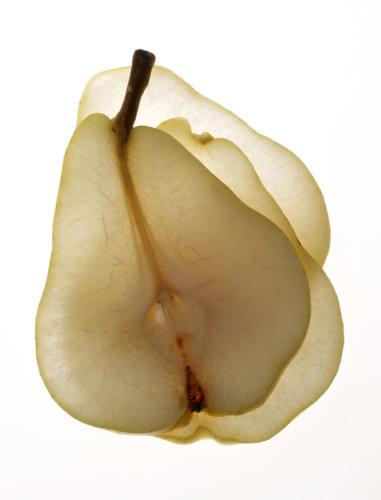 Tranches de poire